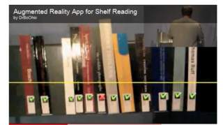 Augmented Reality Library reshelving finding