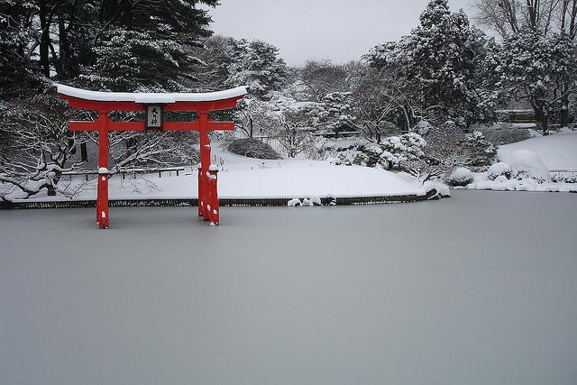Japanese Gate at BBG