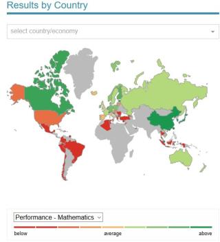 PISA_Map Maths