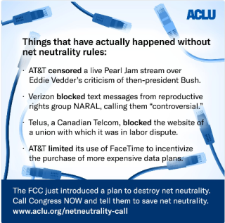 ACLU NetNtrlty
